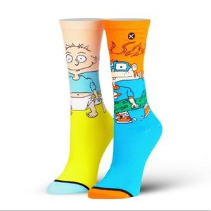 Odd Sox Rugrats Nickelodeon Socks Tommy Chuckie